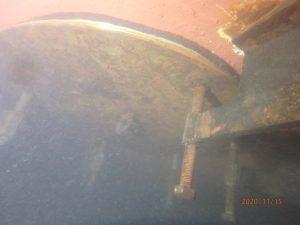 Overboard valve